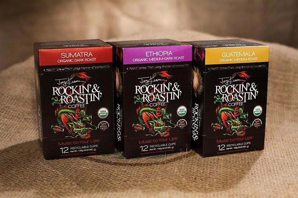 Rockin' & Roastin' - Single-Serve Cups