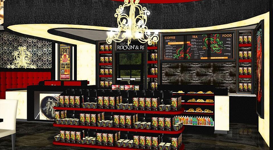 Joey Kramer's Rockin' & Roastin' Cafe - Renderings (1)