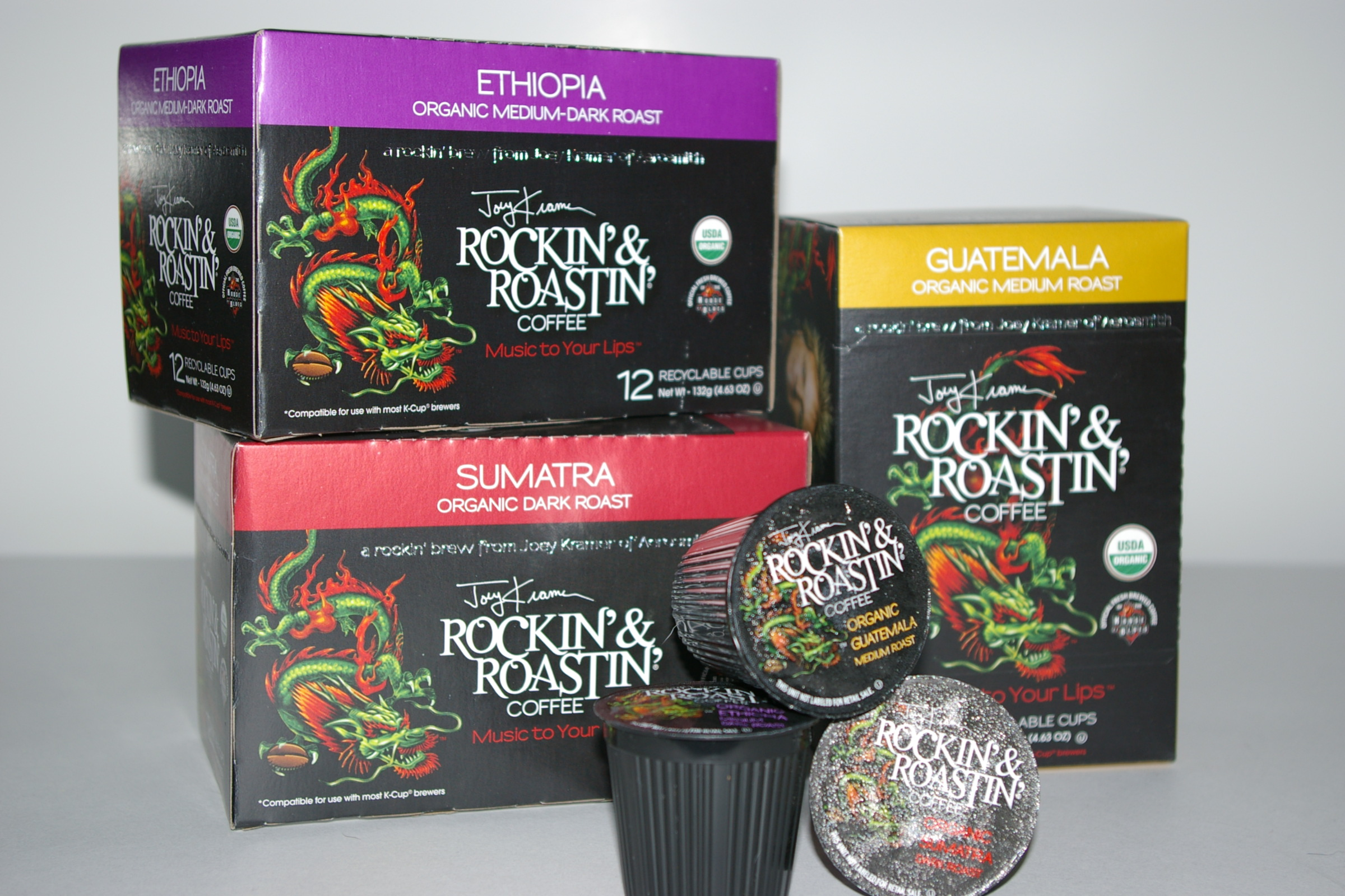 Rockin' & Roastin' - Single Serve Cups (2)